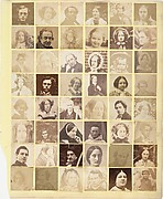 [Collage of 48 Portraits]