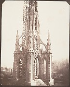 Scott Monument before Completion, Edinburgh