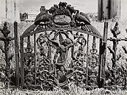 New Orleans Cemetery: Gate of the Weeping Cherub, No. 1