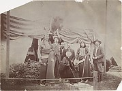 [Buffalo Bill Cody and Members of His Wild West Show]
