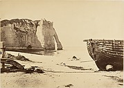 [Beach at Etretat]