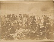 [Reproduction of Napoleon on the Battlefield of Eylau by Antoine-Jean Gros]
