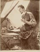 Portrait d'un graveur
