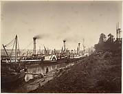 Fête de S. A. Ismail Pacha à bord des bateaux de S. S. A. les princes