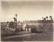 [View of the Plain of Thebes from the Temple of Karnak]
