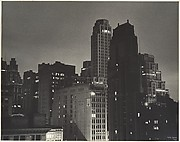 View from the Hotel Algonquin, New York, at Night