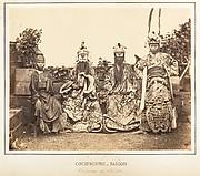 Costumes de Théâtre, Saïgon, Cochinchine