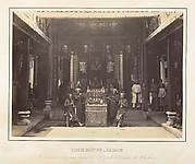 Cérémonie religieuse dans la Pagode Chinoise de Cholen, Saïgon, Cochinchine