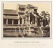 Portique d'entrée de la Grande Galerie de la Pagode