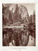 Mirror View of Cathedral Rocks, Yosemite