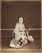 [Tokyo Geisha with Shamisen]