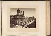 Tuileries Palace, Burned. General View