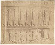 Processione sulla facciata della Grande Scala