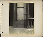 [Building Front Detail with Wreathed Window Casement and Glass Sidewalk, New York City]