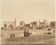 [A General View of MESHED from the roof of a hamam.]