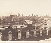 Moscow, the Kremlin in the Distance