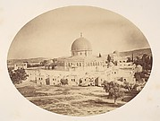 Jerusalem, Site of the Temple on Mount Moriah