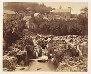 At Pont y pair, Bettws-y-Coed, North Wales