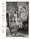 [Picasso in his Studio near Mougins, Notre-Dame-de-Vie]