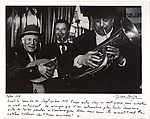 Picasso, l'antiquaire et Paco Munoz (les trois musiciens), Arles