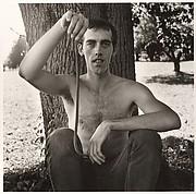 David Wojnarowicz with a Snake