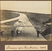 Banen paa Lindholm 1905.