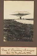 Den 1' Flyvning i Europa Sen 12 September 1906.