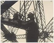 [Stairway, Eiffel Tower, Paris]