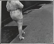 [Woman in Tight Dress on Street, New York City]