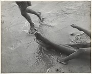 [Beach Scene, possibly Coney Island, New York City]
