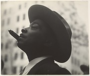 [Head of Man with Hat and Cigar]