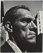 [Close-up Portrait of Man on Street, New York City]