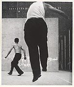 Handball Players, Lower East Side, New York