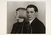 Architektenehepaar.  Der Architekt Hans Heinz Lüttgen und seine Frau