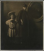 Alfred Stieglitz and His Daughter Katherine
