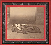 [La Comtesse Reclining in Dark Dress with Chain Around Neck]