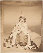 [La Comtesse with Horn, Umbrella and Bottles]