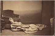 [La Comtesse Reclining in Chinese Robe]