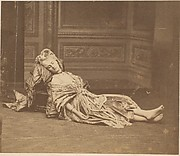 [La Comtesse Reclining in 18th Century Costume]