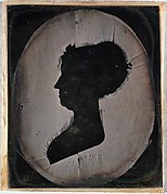 [Paper Silhouette Portrait of a Woman]