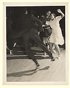 [Couple Dancing the Jitterbug, New York]