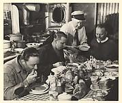 Dinner-time Aboard Tug