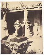 [Fragment of an Egyptian Statue in the Museum at Cherchell, Algeria]