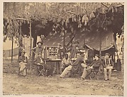 Chief Officer and Clerks of the Ambulance Department, 9th Army Corps, in Front of Petersburg, Virginia