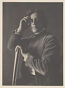 Kahlil Gibran with Book