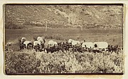 Mormon Emigrant Train, Echo Canyon