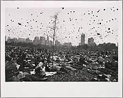 Peace Demonstration, Central Park, New York