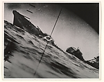 [Sinking of the Japanese destroyer Yamakaze by the USS Nautilus, Seen Through a Periscope]