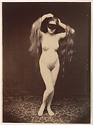 [Female Nude with Mask]