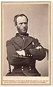 [Major General William Tecumseh Sherman Wearing Mourning Armband]